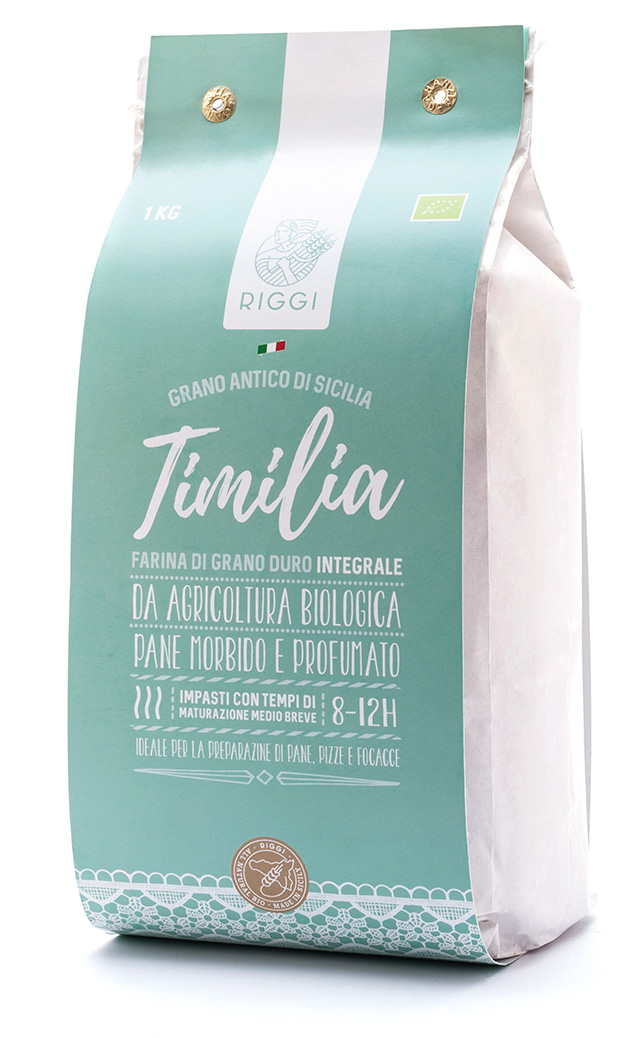 Farina biologica di grano duro varietà Timilia Integrale