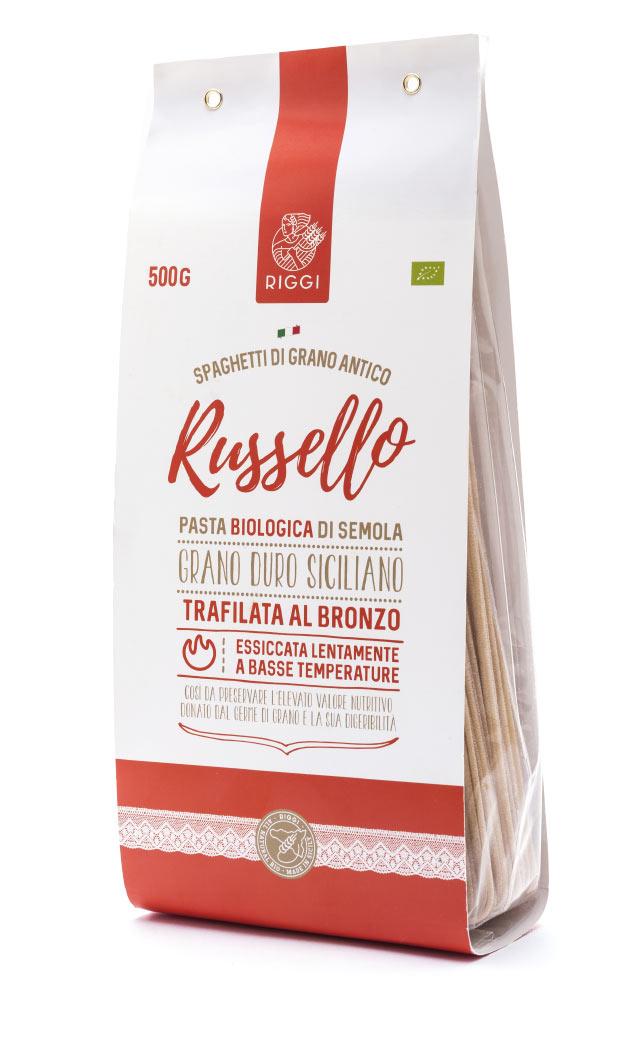 Spaghetti Russello farina biologica siciliana Molini Riggi
