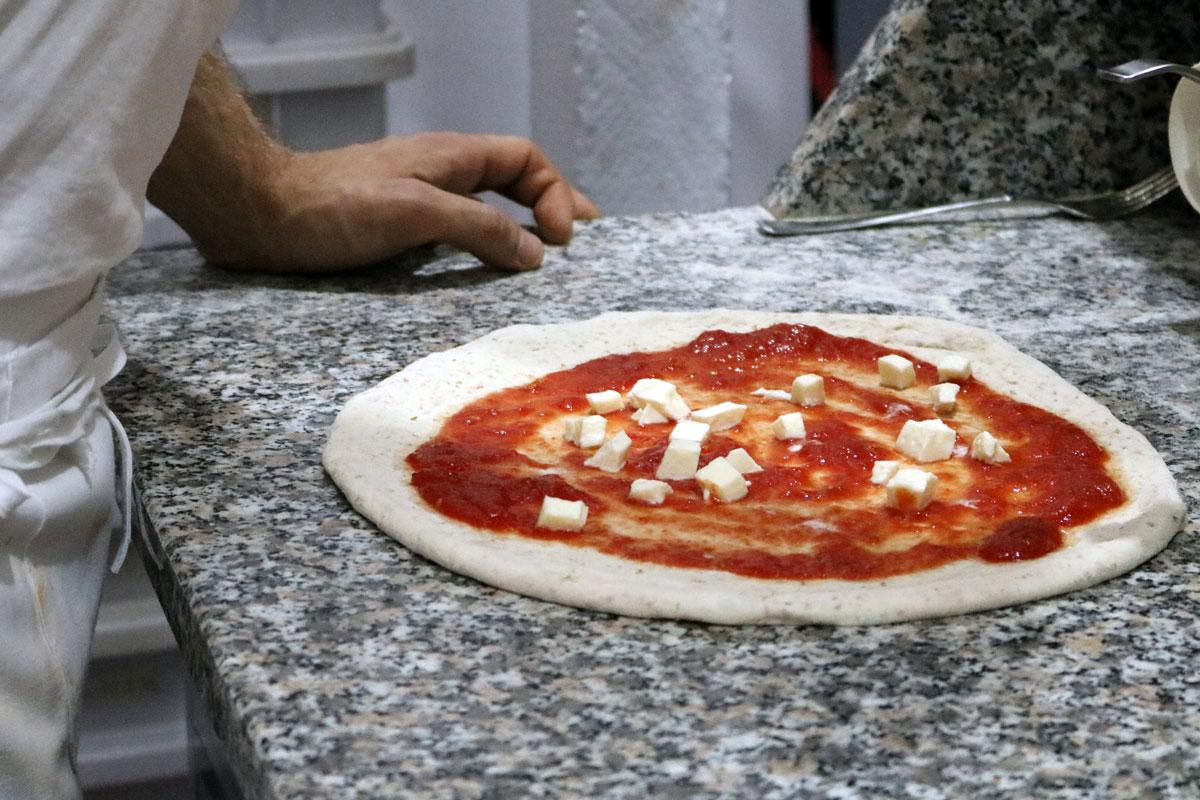 Farina Molini riggi per pizza di Gustus a Napoli